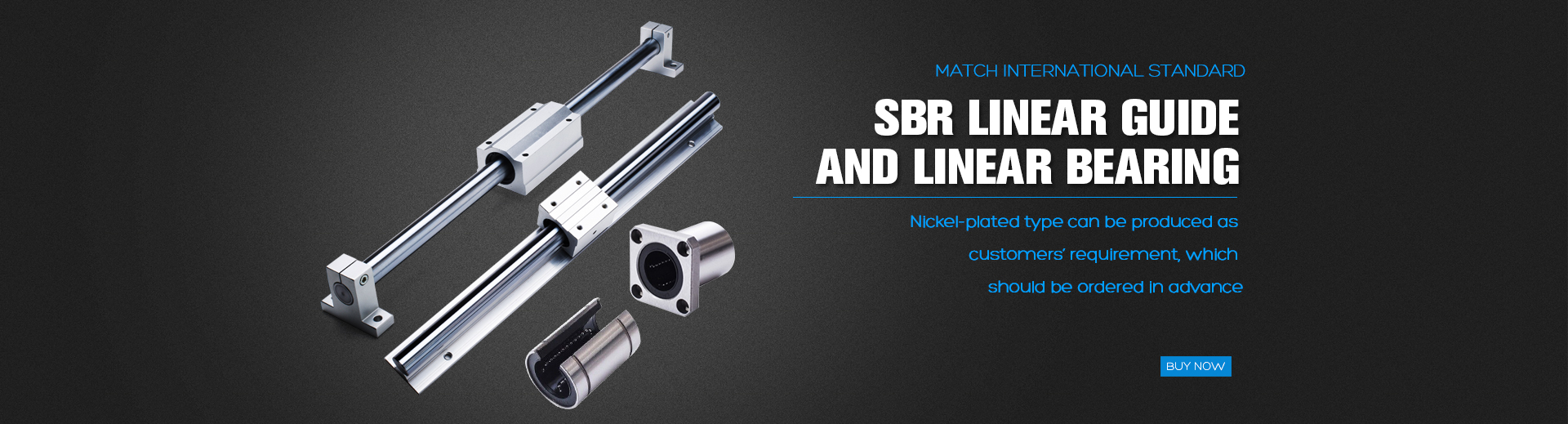Linear Bearing and SBR rails