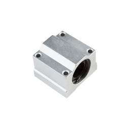 1PC SC10UU SCS10UU 10mm Linear Ball Bearing Block CNC Router for CNC 3D printer shafts Rod parts